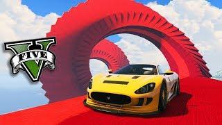GTA V Online: MEGA ESTRUTURA VERMELHA com SUPER!!