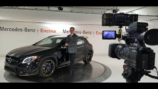 First look & Walk around for 2018 Mercedes-AMG GLA45 by Anoush & Mihir @ MBZ of Encino - S2-Ep5