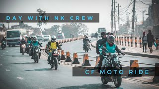 Day With NK Crew || CF Moto RIDE Ft. Bunjungle Adventures