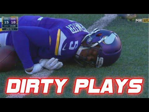 Xxx Mp4 Dirtiest Cheap Shots In NFL Football History DIRTY 3gp Sex