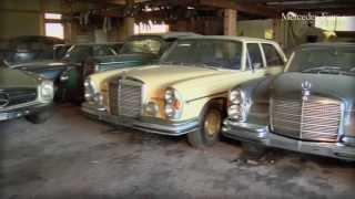 Der  Scheunenfund: 20 klassische Mercedes-Benz im Bergischen Land aufgetaucht