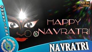 Happy Navratri Wishes, Navratri 2018, Animated Video, Latest WhatsApp Status Download