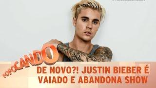 Fofocando (24/10/16) - De novo?! Justin Bieber abandona palco mais uma vez
