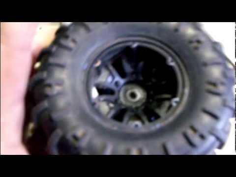 RC fun: Using BBs to weight tires on redcat RS10 Pt.1