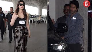 Kriti Flies To Delhi To Spend Time With Family | Varun Dhawan Snapped Post His Gym Session