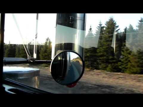 Riding in a Kenworth W900L