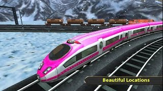 RUSSIAN TRAIN DRIVING SIMULATOR GAME | Train Games - Free Games download - Children Games To Play