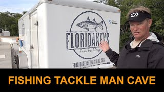 Fishing Tackle Man Cave: How Fishing Guides Use Tackle Trailers To Stay Organized