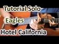 Download Video Tutorial Solo Guitar Hotel California Version Acoustician 3GP MP4 FLV
