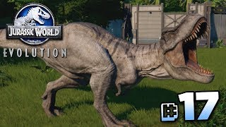 WE HAVE A T.REX!!! - Jurassic World Evolution FULL PLAYTHROUGH | Ep17 HD