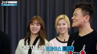 [ENG SUB] Contest for Individual Parts in New JYPE Group Song