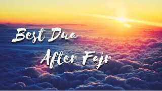 Best Dua After Fajr | Simple Dua With Immense Reward | Mufti Menk