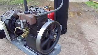 SOLO Stationärmotor Standmotor Typ H8 mit Generator stationary engine