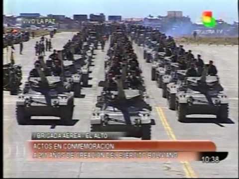 Parada Militar Ejercito de Bolivia parte 7