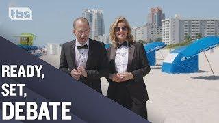 A Debate Showdown in South Beach | Full Frontal on TBS