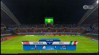 Sub-17: Costa Rica - Italia Partido Completo