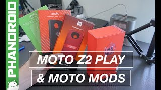 Hands-on: Moto Z2 Play and new Moto Mods