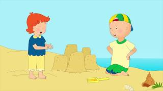 NEW! CAILLOU GOES TO THE BEACH | Cartoons for kids | Cartoon movie