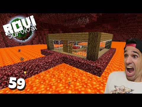 MI CASA EN EL NETHER | Rovi Survival Minecraft | Episodio 59