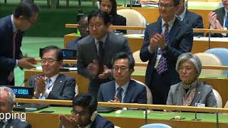 Moon Jae in said his country does not desire the collapse of North Korea