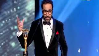 حفل تكريم وشوشة للأفضل في 2017 |  رد فعل قوي من الفنان أحمد فهمي تجاة  السقا بعد حصولة ع