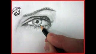 Como Dibujar Ojos (Mejor) How to Draw Eyes (Better): Técnicas de Dibujo y Retrato