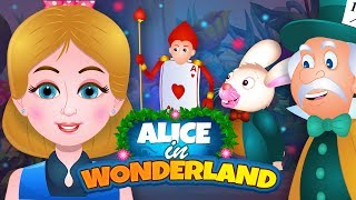 Alice In Wonderland Full Story | Fairy Tales and Bedtime Stories For Children | By TinyDreams Kids