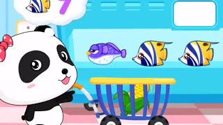 Baby Panda Play and Learn The Numbers | Fun Couting Numbers For Toddler | Babybus Kids Games