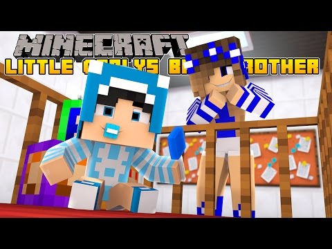 Minecraft-Little Carly-MEET LITTLE CARLYS BABY BROTHER!!