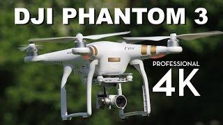 DJI Phantom 3 Professional Review   4K Video Drone Quadcopter Review