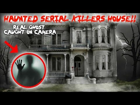 HAUNTED SERIAL KILLERS HOUSE REAL GHOST IN A HAUNTED MIRROR CAUGHT ON CAMERA MOE SARGI