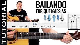 Como tocar BAILANDO en Guitarra Acústica FACIL tutorial GUITAR guitarraviva