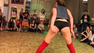 White Girl Twerk Cypher! College (Video) #1 ORIGINAL 2014