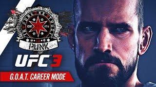 UFC 3 Career Mode - Ep 2 - UFC DEBUT!! (CM Punk GOAT Career #2)