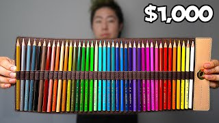 I Bought The World's Most Expensive Colored Pencils!
