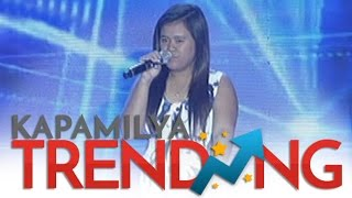 Trixie Dayrit sings Whitney Houston's I Will Always Love You