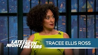 Tracee Ellis Ross Talks Being Put on Blast by Kanye - Late Night with Seth Meyers