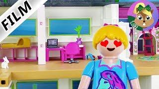 بلايموبيل فيلم | عندما يتم استيلا هنا على غرف الفيلا الفاخرة! سلسلة جديدة للأطفال