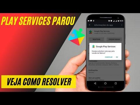 google play service apresenta falhas continuamente