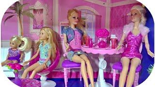 Barbie bebek evi (  Karton koliden  bebek evi  )