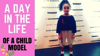 A Day In The Life - GRWM - Behind The Scenes  - Kids Catwalk - Child Model - Fashion Show - Toni&Guy