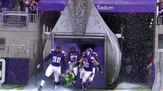 Vikings Trample the Sound Guy Running Out of Tunnel | Cardinals vs. Vikings | NFL
