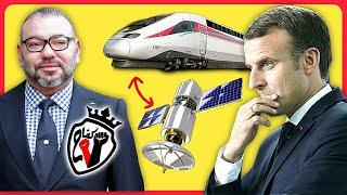 #اجي_تفهم علاش ماكرون باع ل محمد السادس قطار وقمر  ب 2500 مليار  سنتيم  والشعب عايش الفقر