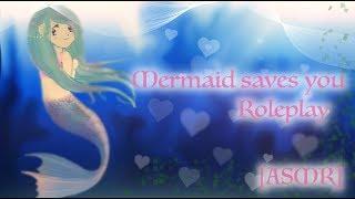 [ASMR] Mermaid saves you Roleplay (Yandere)