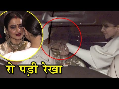 Xxx Mp4 Rekha Cries Deepika Padukone CONSOLES In Front Of Media 3gp Sex