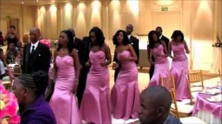 African Wedding Botswana serudi phuu marrying Robin Nelson