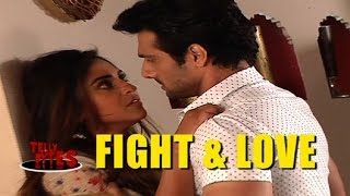 Rishab and Raina's FIGHT ends up in ROMANCE in Brahmrakshas