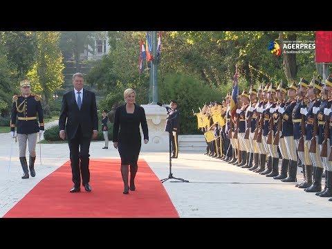 Xxx Mp4 Președintele Croației Kolinda Grabar Kitarovic Primit La Palatul Cotroceni 3gp Sex