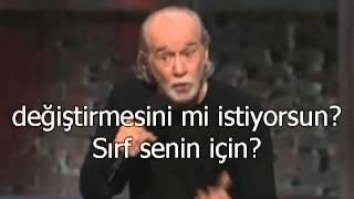 George Carlin - Religion is bullshit Din palavradır ( Türkçe altyazılı)