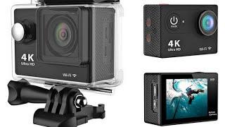 EKEN H9 WiFi Sport Action Camera DV Car DVR 4K Ultra HD SPCA6350 unboxing and review